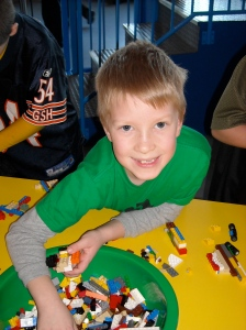 Colin at Lego DiscoveryCentre