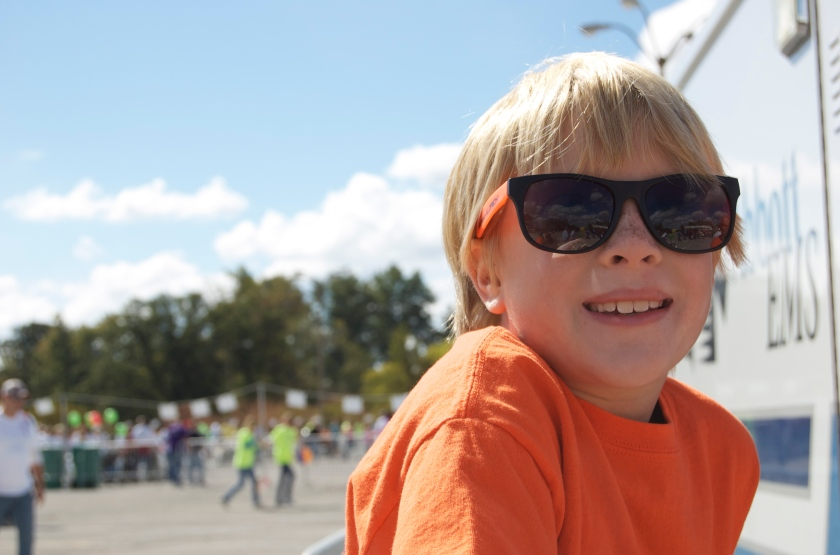 Colin at the JDRF walk